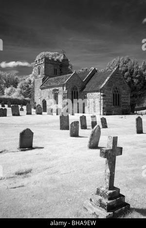 church in Dorset, England, UK - Stock Photo