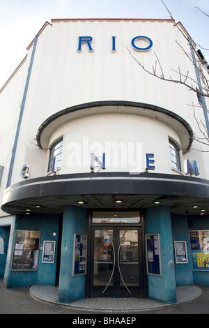 Rio Cinema, Dalston, London - Stock Photo