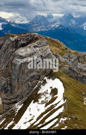 Mount Pilatus Switzerland. - Stock Photo