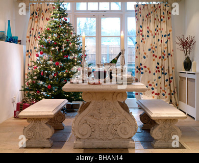 Christmas images. Including Christmas dining tables,front doors,snowy houses,mantlepieces,decorations,trees,wreaths,fireplaces,