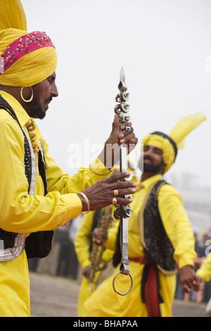 Maghi Mela India Punjab Tradition Festival music - Stock Photo