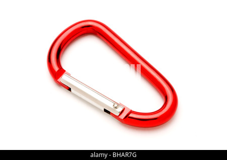 rope snap clamp clip - Stock Photo