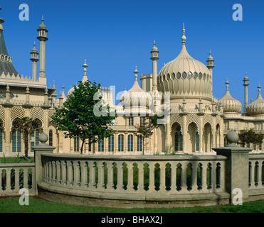 Brighton Pavilion, Brighton, 'East Sussex', England - Stock Photo