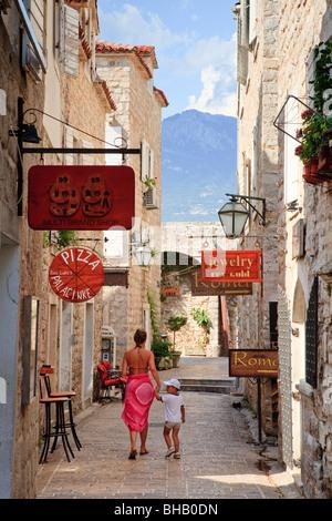 [Budva old town] Montenegro - Stock Photo