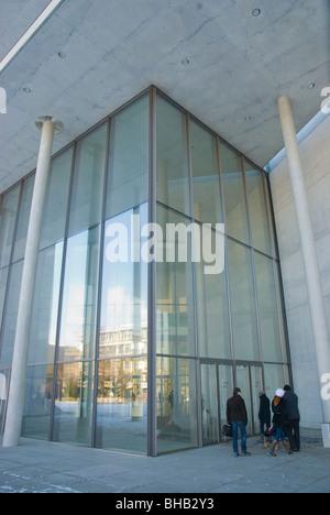 Pinakothek der Moderne museum Schwabing Munich Bavaria Germany Europe - Stock Photo