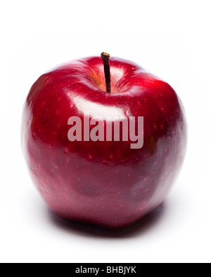 Red Apple cut out - Stock Photo