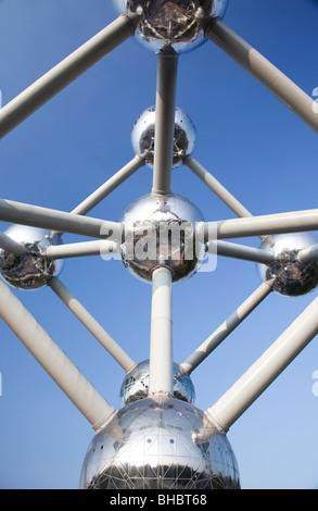 'The Atomium' Brussels Belgium - Stock Photo
