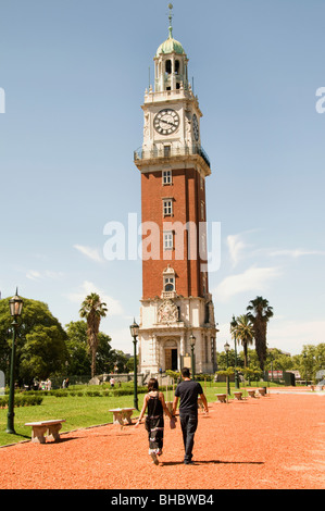 Buenos Aires Argentina English Tower Plaza San Martin - Stock Photo