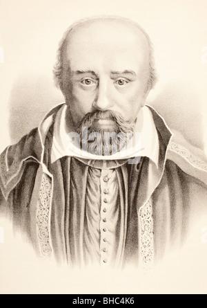 George Buchanan 1506 - 1582. Scottish humanist, historian and scholar. - Stock Photo