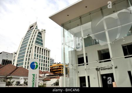 Bank banco internacional santiago chile stock photo for Banco internacional