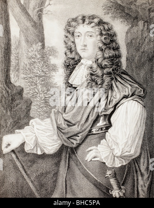 John Graham of Claverhouse, 1st Viscount Dundee 1648 - 1689. Scottish soldier and nobleman. - Stock Photo