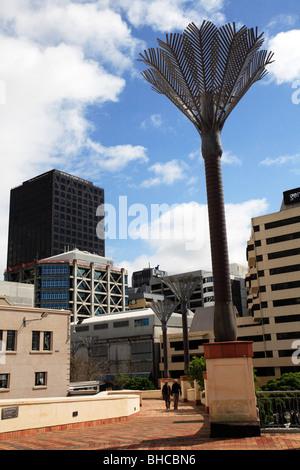 Civic Square Wellington New Zealand - Stock Photo