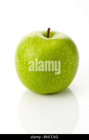 Granny Smith Green Apple - Stock Photo