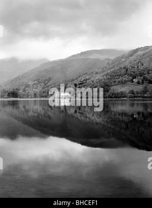 Quiet morning, Grasmere, Cumbria, UK - Stock Photo