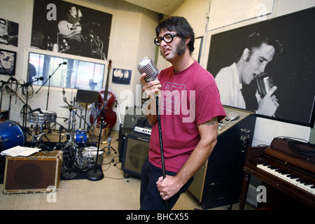 Sun Studio, Memphis, Tennessee, USA - Stock Photo