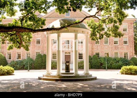 'The Old Well', the unofficial symbol of the University of North Carolina in Chapel Hill, North Carolina