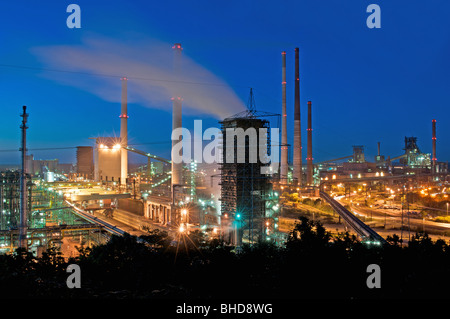 Steel factory, Germany. - Stock Photo