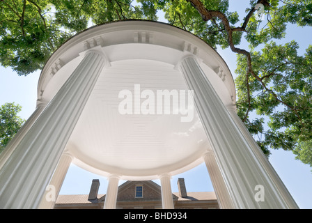 'The Old Well', the unofficial symbol of the University of North Carolina in Chapel Hill, North Carolina - Stock Photo