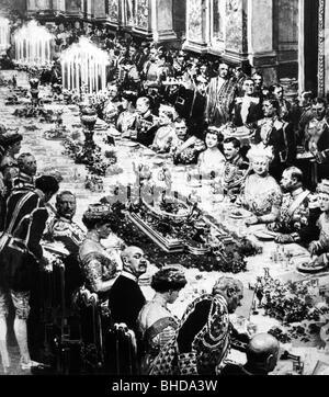 Ernest Augustus III., 17.11.1887 - 30. 1.1953, Duke of Brunswick 2.11.1913 - 8.11.1918, wedding with Princess Victoria - Stock Photo