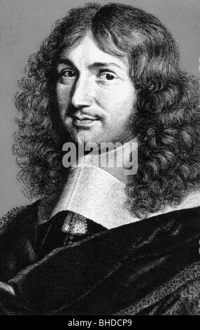 Colbert, Jean Baptiste, 29.8.1619 - 6.9.1683, French minister of finance, portrait, - Stock Photo