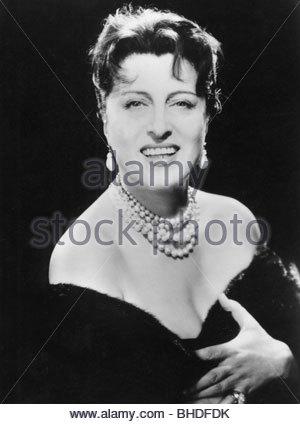 Magnani, Anna, 7.3.1908 - 26.9.1973, Italian actress, portrait, to the movie 'The Rose Tattoo', USA 1955, jewelry, - Stock Photo