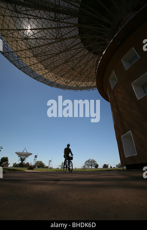 The Parkes Observatory, New South Wales Australia - Stock Photo