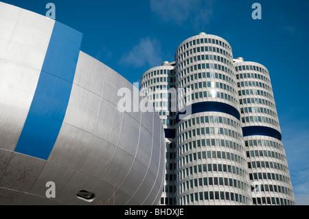 BMW Headquarters in Munich - Stock Photo
