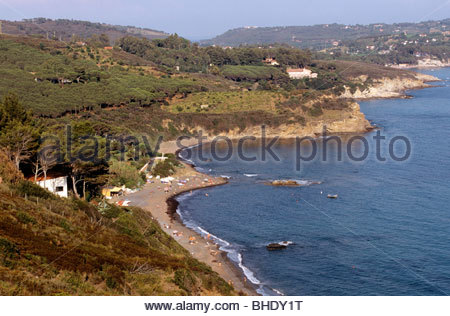 europe, italy, tuscany, isola d'elba - Stock Photo
