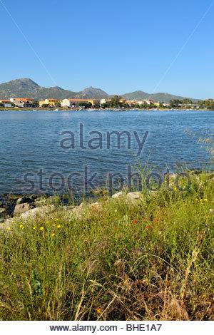 dock, olbia, sardinia, italy - Stock Photo