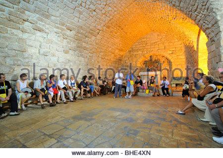 ancient synagogue, Nazareth, Israel, Galilee - Stock Photo