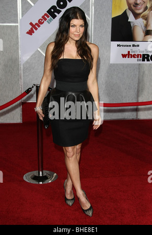 FERGIE WHEN IN ROME WORLD PREMIERE HOLLYWOOD LOS ANGELES CA USA 27 January 2010 - Stock Photo