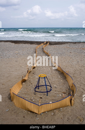 Sea Turtle Protection Project - Stock Photo