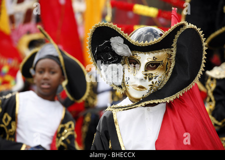 Notting Hill Carnival, London, England - Stock Photo