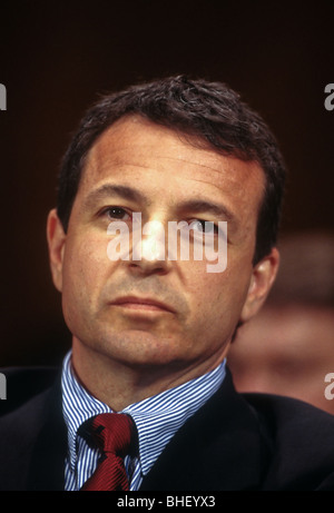 Robert Iger, President of ABC Television testifies in Congress in Washington, DC - Stock Photo