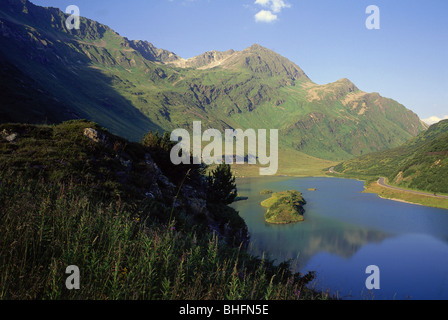 geography / travel, Austria, Vorarlberg, landscapes, reservoir Kops, Additional-Rights-Clearance-Info-Not-Available - Stock Photo