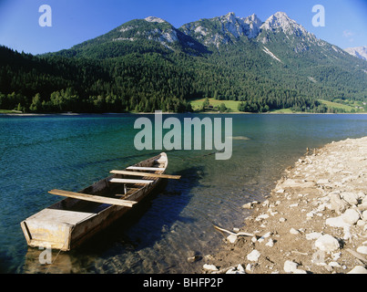 geography / travel, Austria, Tyrol, landscapes, Hintersteiner See, near Scheffau, Additional-Rights-Clearance-Info - Stock Photo