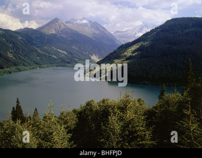 geography / travel, Austria, Tyrol, landscapes, Durlaßbodenspeicher, Additional-Rights-Clearance-Info-Not-Available - Stock Photo