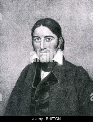 DAVY CROCKETT (1786-1836) US frontiersman - Stock Photo