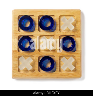 Tic Tac Toe Game - Stock Photo