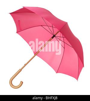 Red Umbrella - Stock Photo