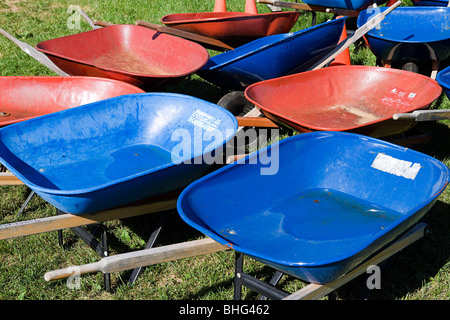 Wheelbarrows - Stock Photo