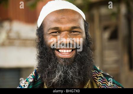 Man in mysore india Stock Photo