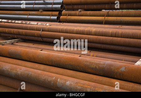 Rusting pipes - Stock Photo