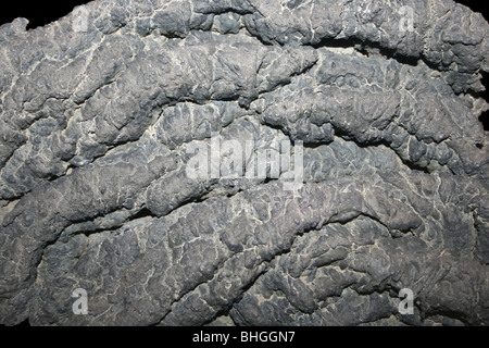 Ropey Basalt Lava - Stock Photo