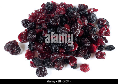Pile of dried mixed fruit - Stock Photo