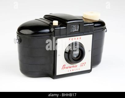 Kodak Brownie camera 1950s classic - Stock Photo