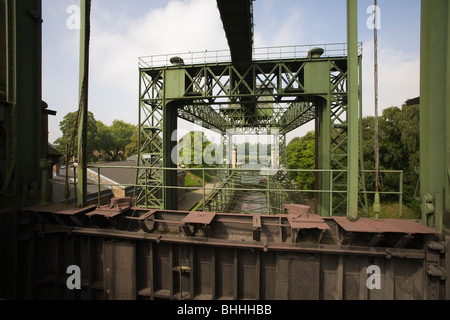 Schiffshebewerk Henrichenburg, Waltrop, Germany - Stock Photo
