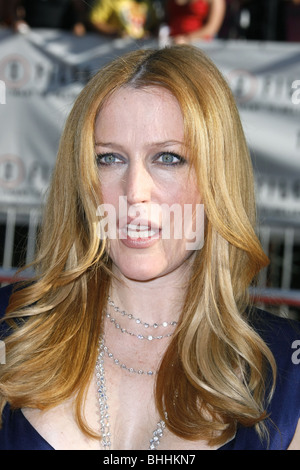 GILLIAN ANDERSON THE X-FILES: I WANT TO BELIEVE WORLD PREMIERE HOLLYWOOD LOS ANGELES CA USA 23 July 2008 - Stock Photo