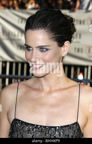 AMANDA PEET THE X-FILES: I WANT TO BELIEVE WORLD PREMIERE HOLLYWOOD LOS ANGELES CA USA 23 July 2008 - Stock Photo