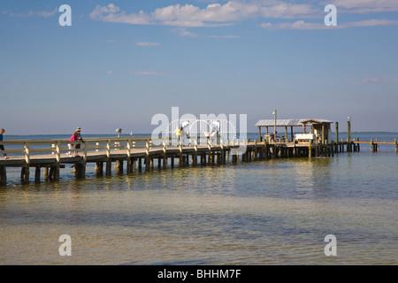 The fishing pier at bokeelia on pine island in sw florida for Bokeelia fishing pier